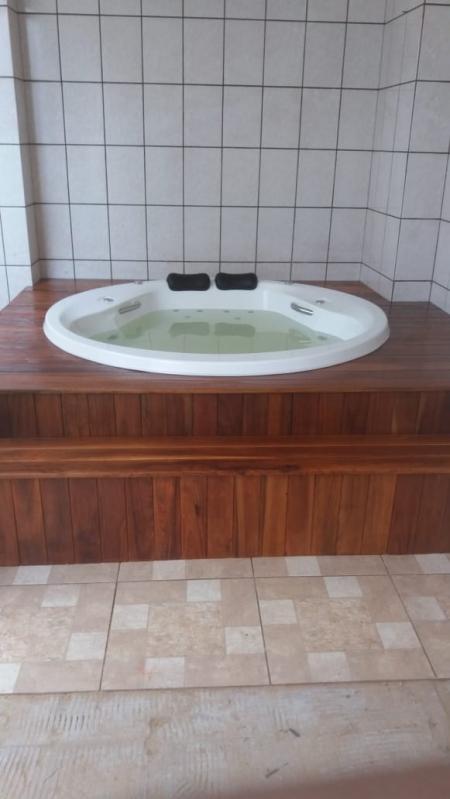 Banheira Redonda para 2 Pessoas Preço Nova Boa Vista - Banheira Redonda