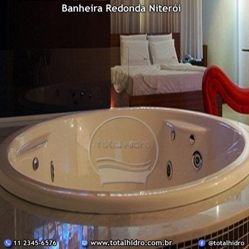 Banheira Redonda Simples Preço Araguaína - Banheira Redonda