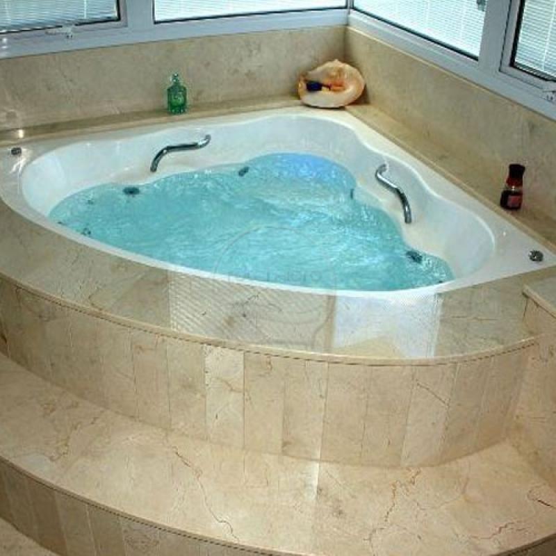 Comprar Banheira para Banheiro Alagoa Grande - Comprar Banheira Hidro Redonda