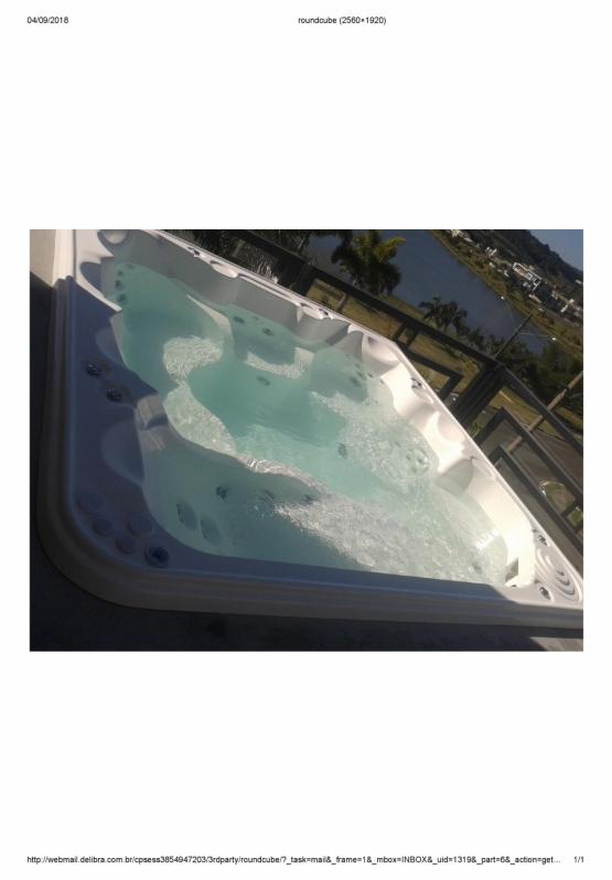 Comprar Banheira Spa área Externa Barra Funda - Comprar Banheira Spa com Deck