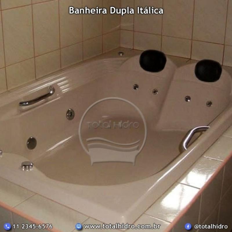 Fábrica de Banheira Dupla Sousa - Fábrica de Banheira de Hidro