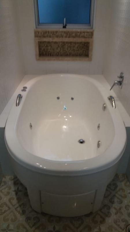 Instalação de Banheiras para Banheiro Cidade Ocidental - Instalação de Banheira Hidro Ouro Fino
