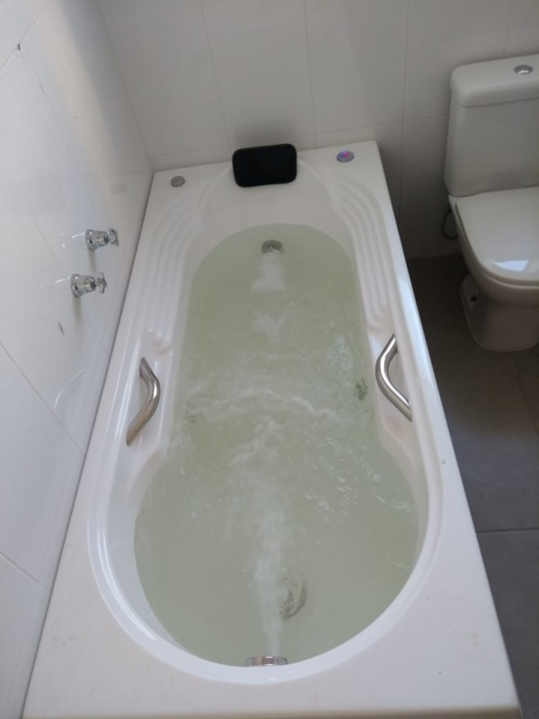 Instalação de Banheiras Simples Concórdia - Instalação de Banheira Hidro Ouro Fino