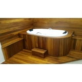 deck de banheira