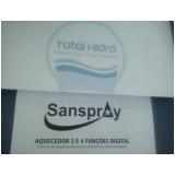 aquecedores de água para banheira Jardim Guanabara