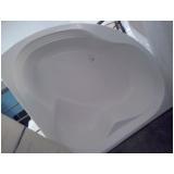banheira de hidro dupla de canto valor Caracaraí