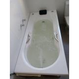 banheira de hidro pequena Paulo Bento