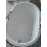 banheira funda individual preço Monte Sião