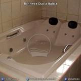 banheira hidro dupla acrílico valor Maracanaú