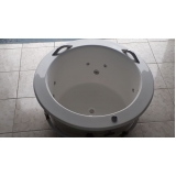 banheira redonda 2 pessoas Luís Correia