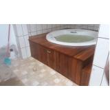 banheira redonda banheiro preço Itajaí