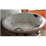 banheira redonda com hidro preço Capela