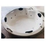 banheira redonda para banheiro Pontão