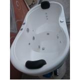 banheira com assento
