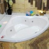 banheira de canto com hidro