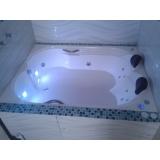banheira dupla pequena