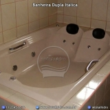 banheira dupla