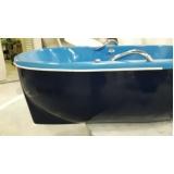 banheira piacenza imersão capa preta
