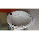 banheira de imersão redonda