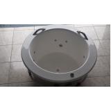 banheira redonda para banheiro
