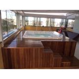 banheiras spa com deck Santo André