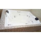 comprar banheira dupla completa com aquecedor preço Triunfo