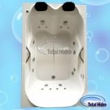 comprar banheira dupla completa com aquecedor Jacutinga