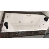comprar banheira hidro dupla fibra de vidro preço Barra do Garças