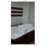 comprar banheira individual completa valor Criciúma