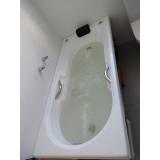 comprar banheira individual completa Capela