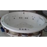 comprar banheira redonda hidro preço Maracanaú