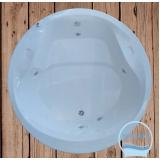 comprar banheira redonda simples preço Nova Prata