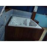 comprar banheira spa com assento preço Várzea Grande