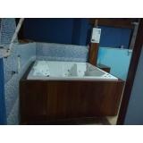comprar banheira spa com assento valor Cruzeiro do Sul