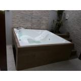 comprar banheira spa com deck preço Viamão