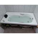 fábrica de banheira individual Jardim Guanabara
