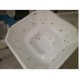 fabricante de banheira completa