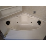 instalação de banheira de canto casal preço Aracruz