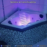 instalação de banheira de canto com aquecedor Tagará da serra