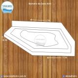 instalação de banheira de hidro canto em apartamento preço Santa Maria