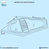 instalação de banheira de hidro canto em apartamento Tangará da Serra