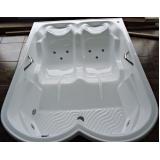 instalação de banheira dupla com hidro lajeado