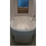 instalação de banheira em apartamento valor Nossa Senhora da Glória