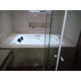 instalação de banheira hidro dupla gel coat valor Canindé