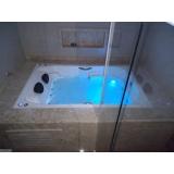 instalação de banheira hidro dupla gel coat Ariquemes