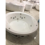 instalação de banheira imersão redonda valor São José