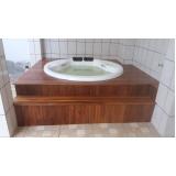 instalação de banheira redonda hidro preço Amajari