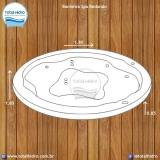 instalação de banheira redonda simples valor Cotia