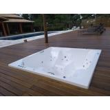 instalação de banheira spa 5 lugares valor Embu das Artes
