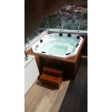 instalação de banheira spa com assento preço Santa Maria